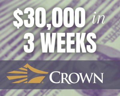 Carolina Crown Fundraised $30k in 3 Weeks.